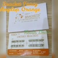 Bracket Fancy Orange Amplop, Behel Permanen. Eceran.