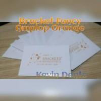 Bracket Fancy Orange Amplop, Behel Permanen. Grosir