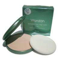 Wardah Exclusive Two Way Cake  spark- REFILL