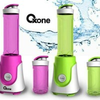 Oxone 853 Personal Hand Blender Pink & Hijau