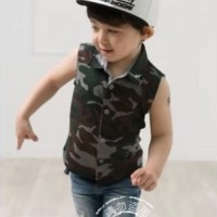 Baju Anak - EButy Army Set (BO-462)