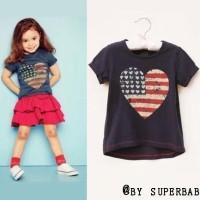 Baju Anak - Love Flag Set (GI-708)