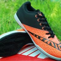 Sepatu Futsal /sparing,sport,lari Nike Elastico Finale Hitam oren KWS