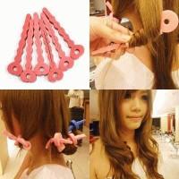 Bendy Roller Hair Clip ~ Cara sederhana membuat rambut Ikal Spiral / C