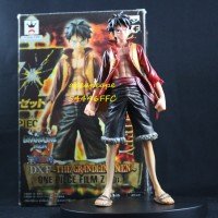 Luffy Grand Line Men Version Film Z DXF One Piece Action Figure Mainan
