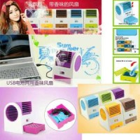 AC Duduk Portable Mini Fragnance Fan / Kipas Tanpa Baling