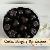 coklat dark Bunga