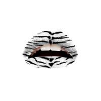 Twl Cosmetics Temporary Lip Tattoo - White Tiger