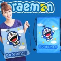Tas Serut Ransel Doraemon Goodie Tote Bag Hello Kitty Adidas Nike Puma