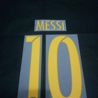 Original Nameset for Barcelona 2015-16