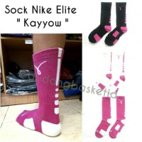 Kaos Kaki Basket Sock NIKE Elite Kayyow High / Panjang