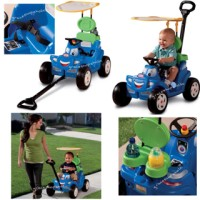 Little Tikes Deluxe 2 in 1 Cozy Roadster 622069