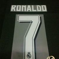 Original Nameset for Real Madrid 2015-16