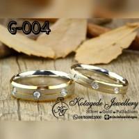 Cincin Kawin Nikah Tunangan Emas G-004