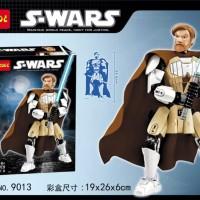 Figure Star wars lego starwars Jedi Obi Wan Kenobi decool 9013