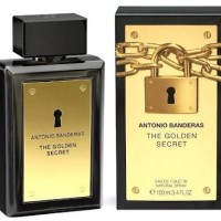 PARFUM ORIGINAL 100% box + segel ANTONIO BANDERAS THE GOLDEN SECRET