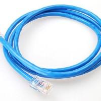 Kabel LAN 2 Meter Terpasang Konektor RJ45 Straight