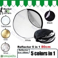 REFLECTOR 5 IN 1 80CM (5 COLOUR IN 1)