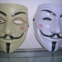 topeng vendeta /anonymous/ fawkes guy putih