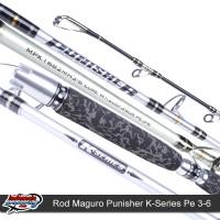 Joran Pancing Jigging Maguro Punisher K-Series Pe 4-6