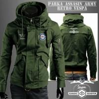 Jaket Parka Vespa Army (type Assasin)