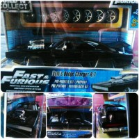 Diecast Jada Dom's Dodge Charger RT Fast and Furious (Mokit)