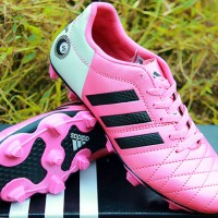 Adidas 11Pro Pink KW Super( sepatu bola,pull besi,soccer)