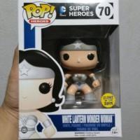 Funko Pop Wonder Woman White Lantern GITD