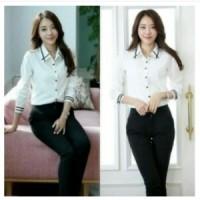 asri white blouse