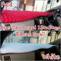 alas dashboard bahan SnaiL Red and  White