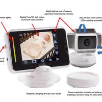Baby Monitor Summer Infant BabyTouch Plus Digital Video Monitor