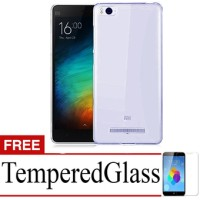 Softcase ultrathin XIAOMI Mi4i / Mi4 i / Mi 4i Free Tempered Glass