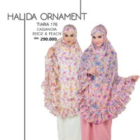Mukena Tatuis Halida Ornament