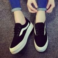 Sepatu Kets Replika Vans Hitam Murah