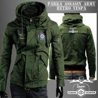 Jaket Parka Assasin Army Vespa