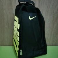 Tas Sepatu Futsal Bola Gym Fitness Running Nike Hitam Stabilo