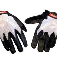 Sarung tangan kulit HIRZL GRIPPP TOUR FF warna White