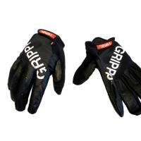Sarung tangan kulit HIRZL GRIPPP TOUR FF warna Black