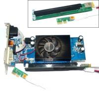 PCI express USB 3.0 extention Slot tambahan Card Adapter PCI-E VGA GPU