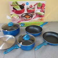 Panci Set SUPRA Rosemary 7 Piece Cookware | 4 Pilihan Warna