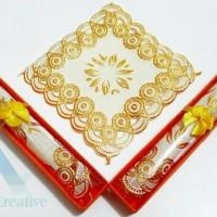 souvenir pernikahan tatakan gelas box mika murah unik
