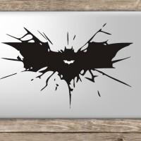 027 macbook decal sticker vinyl aksesoris laptop batman wing