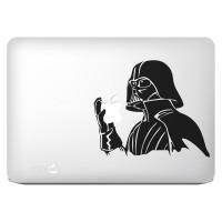 044 macbook decal sticker vinyl aksesoris laptop darh vader