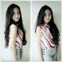 Wig hair Clip Curly Panjang 60 Cm