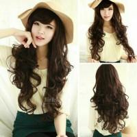 Wig / Rambut palsu wave panjang 80 Cm