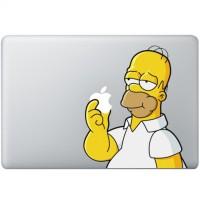 077 macbook decal sticker vinyl aksesoris laptop shimpson