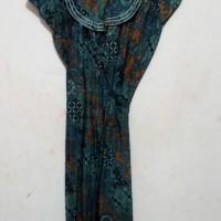 Dress batik model kimono