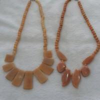 kalung batu akik madu original