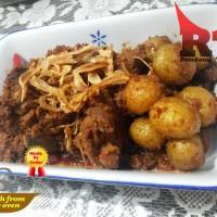 Rendang Talago Daging + Kentang 1/2 Kg - Pedas