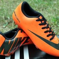 Nike Mercurial Vapor IX Orange KW Super( sepatu bola,soccer,kado)
